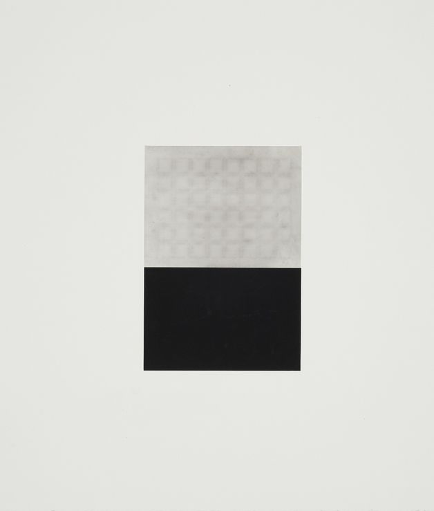 Sophie Jodoin, Untitled (pillar), 2011. Conté and mylar on museum board. 49 x 43 cm. Photo from gallery website.