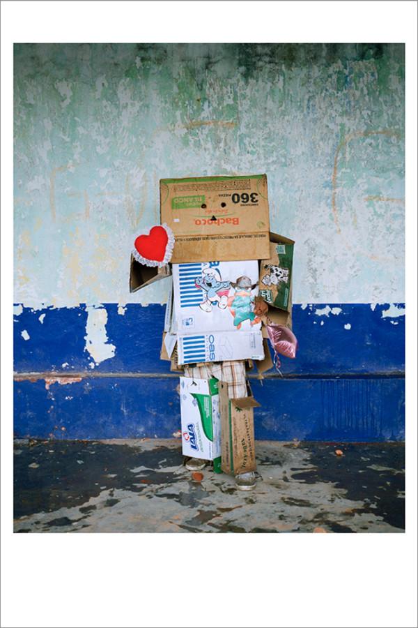 Cardboard Man